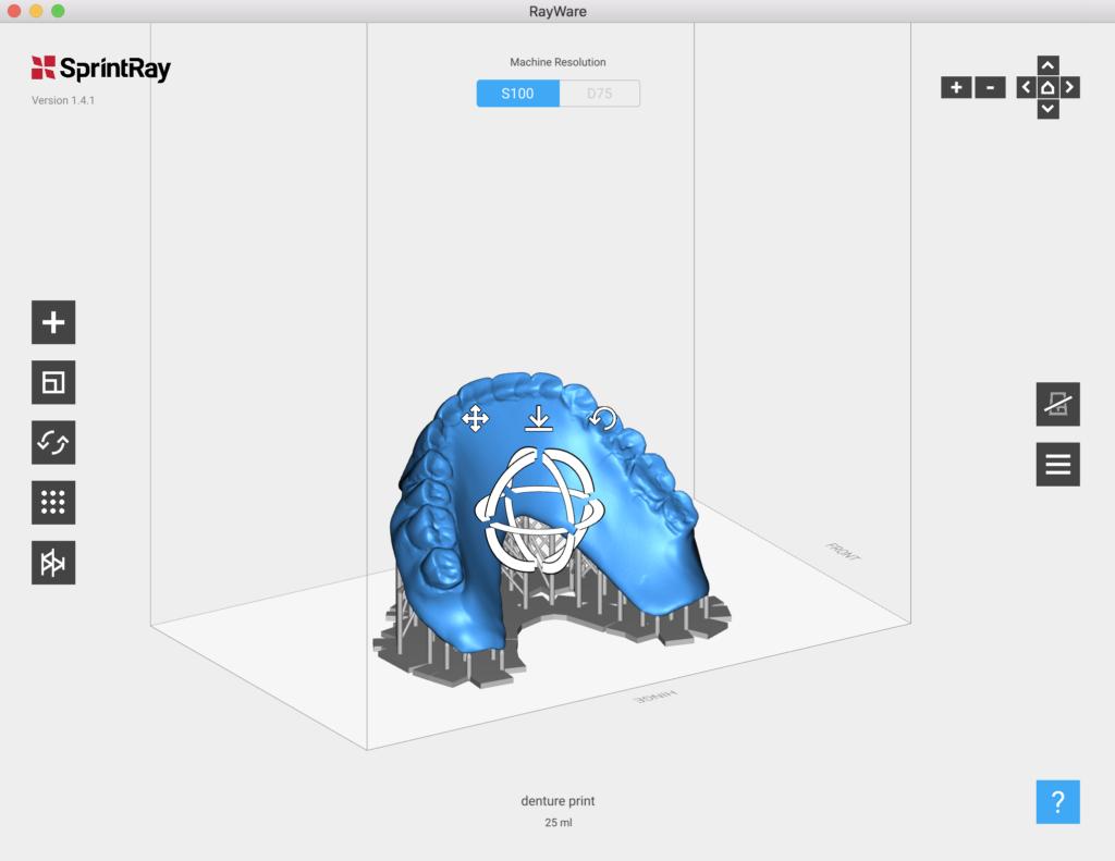 dental 3d printing material