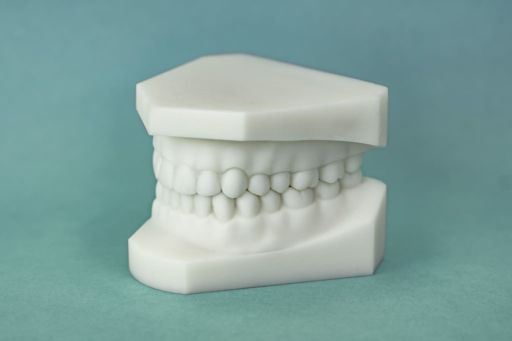 dental model white resin