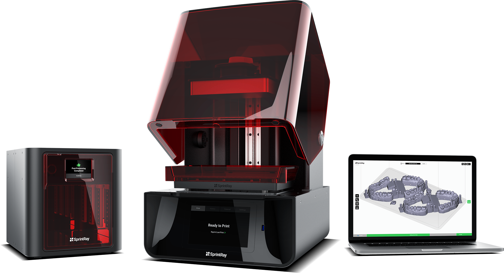 3D dentistry – SprintRay's MoonRay 3D Printer for dentists