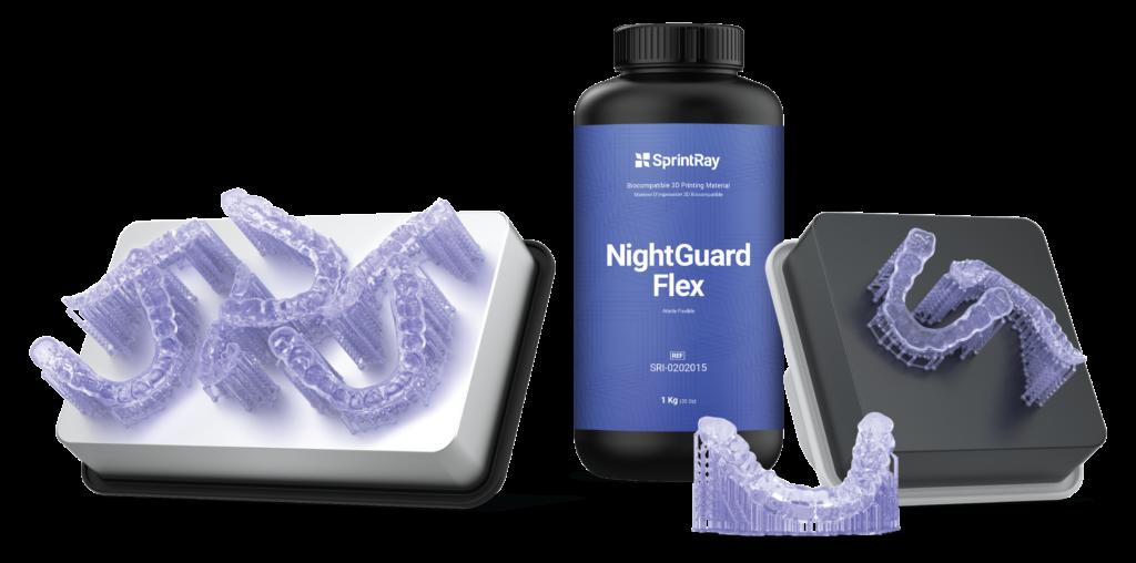 NightGuard Flex 3D printing material